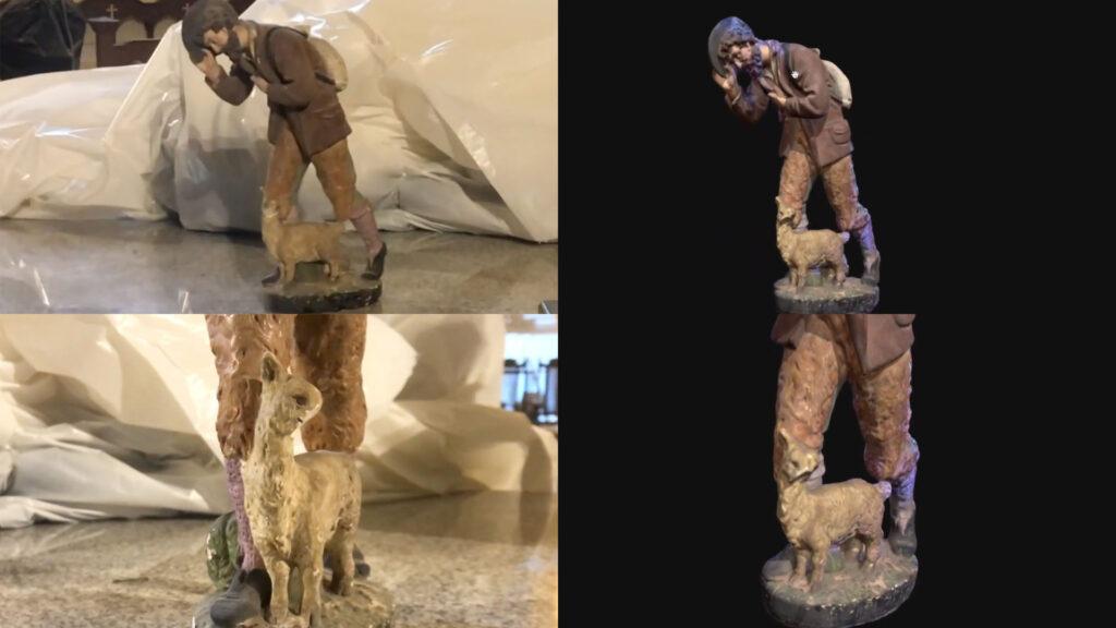 3D掃瞄是一種能夠捕捉真實物體或環境, 一比一的真實原貌反應在電腦上